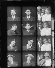 19-36 Photo Booth (gordon_morales) Tags: glass plate negative