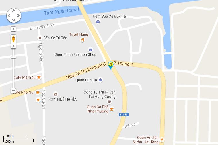 Khai trương siêu thị Điện máy XANH Tri Tôn, An Giang