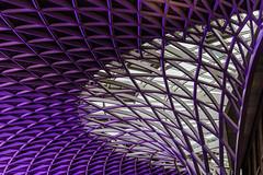 Kings Cross Station (21mapple) Tags: kingscross train station roof
