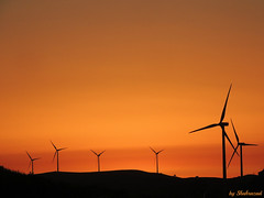 Windmills at sunset (Shahrazad26) Tags: windmills windmolens sunset zonsondergang coucherdusoleil spanje spanien spain espagna espagne andalusia andalusi