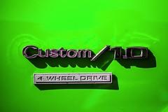 Custom / 1.0 (Thomas Hawk) Tags: california chevrolet chevy dreammachines dreammachines2010 halfmoonbay usa unitedstates unitedstatesofamerica auto automobile car emblem red fav10