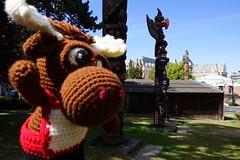 DSC00513 (The Crochet Crowd) Tags: crochetmoose amigurumi moose crochet doll alaska britishcolumbia thecrochetcrowd michaelsellick jeannesteinhilber danielzondervan crochetcruise mooseontheloose