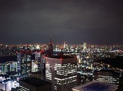 (shuttermaki) Tags: city 120 film rooftop japan night mediumformat tokyo 645 shinjuku fuji portra800 60mmf4 gs645s 82c