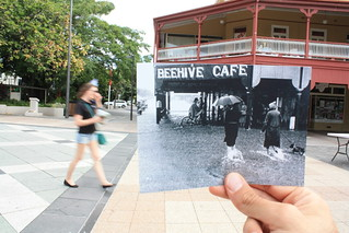Now and Then - Cairns Flood 1940 FNQ