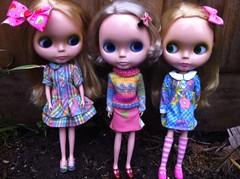 Blonde BL girls love multicolours