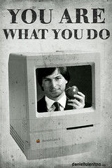 What are you Jobs? (Daniel Tolentino) Tags: apple computer jack mac do you jobs steve  what daniels whisky tennesse popular bourbon faz proverb machintosh voc oque dictte