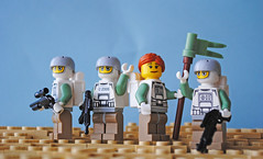 Germanic Union (Bruno VW) Tags: lego flag union scene views global germanic warfare sandgreen