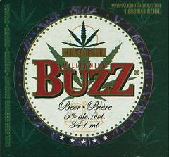 Millenium Buzz Hemp Beer - Cool Brewing Company (JoeSeliske) Tags: brown toronto ontario beer glass brewing buzz bottle cool 5 millennium company hemp on