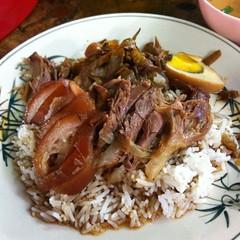ข้าวขาหมู | Stewed Pork Knuckles with Rice @ เจ๊มล อาหารตามสั่ง | J Mon