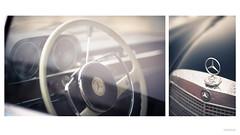 W108 Diptych (DryHeatPanzer) Tags: classic cars vintage mercedes benz 1966 w108 250se