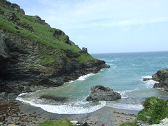 Tintagel Bay (andyspex) Tags: castle tintagel cornwallenglishheritagebeachsea