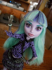 It's like a dream comes true (MyMonsterHighWorld) Tags: monster high doll wishes dustin 13 twyla