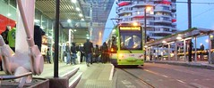 Tramlink unit 2540 on service 2 East Croydon 19/05/13. (Ledlon89) Tags: london transport tram tramway croydon eastcroydon bombardier tramlink tfl electrictransport