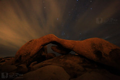 Martian Arch - Joshua Tree National Park (EDgY JraE) Tags: mars night clouds nationalpark arch joshuatree martian