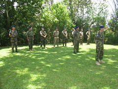 Ten EUTM personnel attending to receive Medal Parade (European External Action Service - EEAS) Tags: operations missions somalia eeas eutm csdp