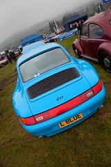 Porsche 911 (<p&p>) Tags: auto show blue classic cars car club germany sco