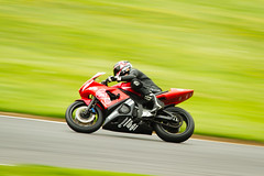 Yamaha at Brands Hatch (T_J_G) Tags: grass bike tarmac race speed fun kent motorbike yamaha r1 msr trackday brandshatch