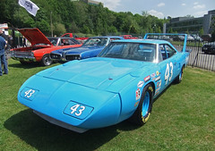 1970 Plymouth Superbird (Richard Petty Replica) #1 (demented_b) Tags: car america muscle plymouth replica richard 1970 chrysler mopar 2012 petty brooklands superbird