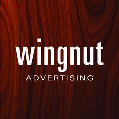 WingnutLogo_Wood (wingnutinc) Tags: advertising wingnut