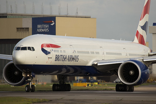 British Airways Boeing 777-300 G-STBC