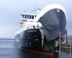 Open wide (leedslily) Tags: sea ferry boat ship calmac arran ardrossan macbrayne calendonian