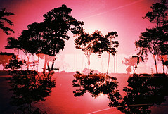 red planet (Stitch) Tags: red lomo lca xpro fuji doubleexposure philippines velvia laguna expired starosa fujivelvia50f nuvali shutterrevolution