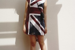 Years ago. (Mercedes Morales) Tags: uk dress flag bandera ago years unionjack hace vestido aos