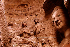 Bhuddha Cave (Yungang Grottoes) (baddoguy) Tags: china travel art tourism architecture religious ancient buddha buddhist religion chinese culture buddhism landmark destination cave grottoes shanxi datong worldheritage