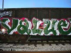 value (MAD DUCKET$) Tags: graffiti trains gondola value graffititrain 2013 fr8s