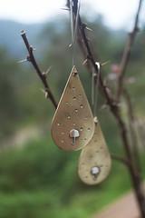 lluvia (: FuGa :) Tags: rain bronze umbrella lluvia plata aros brass paraguas jewel joyeria bronce earing valdivia silversmith metalsmith joyas orfebreria silbver