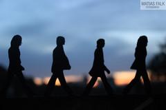 the beatles (Mati Falk) Tags: road sunset beatles matias falk abey