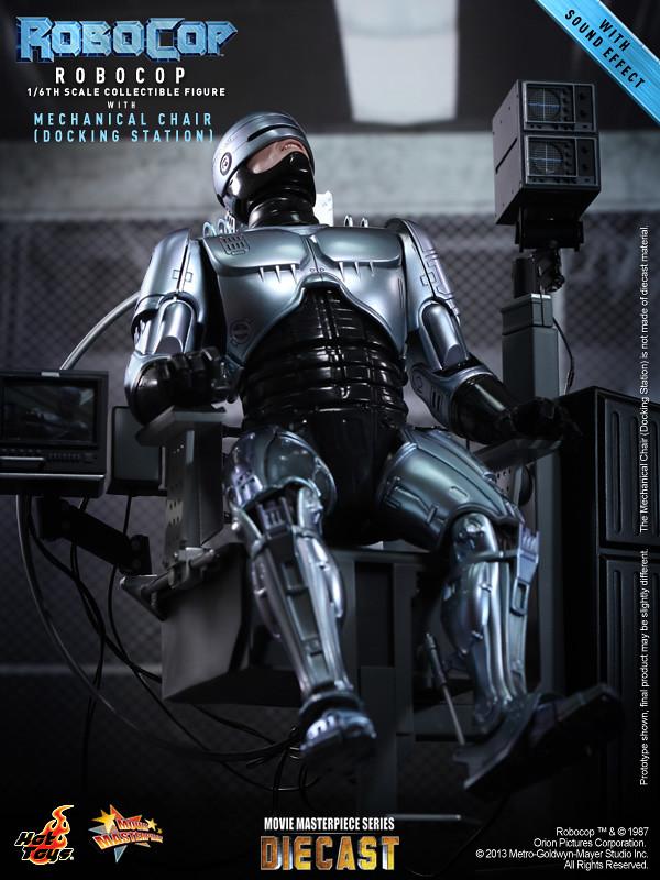 Hot Toys - MMS203D05 - 1/6比例 機器戰警 / 機械椅 套裝組合