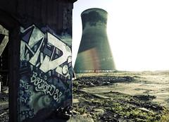 (Alpha Rios) Tags: urban art graffiti graf towers flare alpha rios cooling urbex