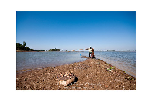 Fishing at Hakaluki Howor-হাকালুকি হাওর