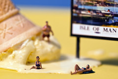 Sell-by-date: Expired (George Barnes) Tags: people food man tourism ice miniature model little small models cream fast bap railway chips mcdonalds fries burgers buns change decline isle development bun select