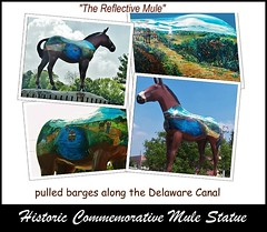Historic Mule (MissyPenny) Tags: art statue canal pennsylvania historic historical buckscounty mule delawareriver delawarecanal bristolpennsylvania commonwealthpa pdlaich missypenny