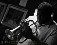John Douglas (Juan N Only) Tags: music monochrome blackwhite michigan detroit livemusic may trumpet jazz nightclub grayscale bebop berts flugelhorn trumpeter johndouglas hardbop 2013 criticismwelcome bertsmarketplace flugelhornist juannonly