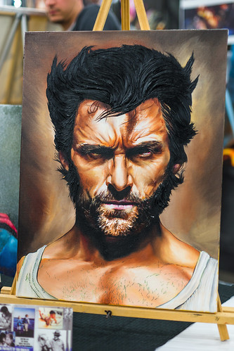 Wolverine Art Work by Ash Gonzales | Comicpalooza 2013 Houston Texas - 014