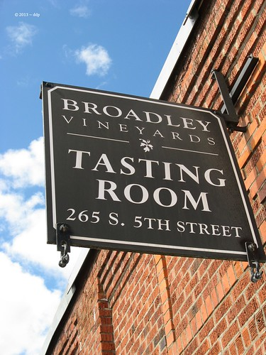 Broadley Vineyards Tasting Room