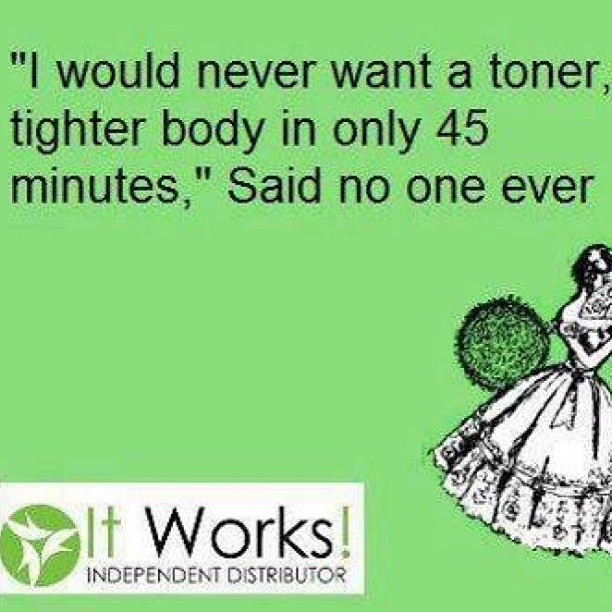 I want to change someones life today.....Let me show you how to generate extra income.  Let me show you how It Works can help you tighten, tone, and firm that bidy of yours.   Let me change you.  757.775.3848 www.finesseuncovered.myitworks.com #itworks #