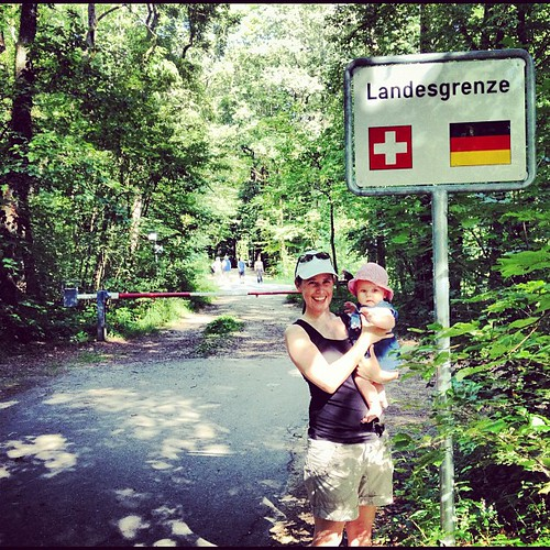 Sneaking into Germany