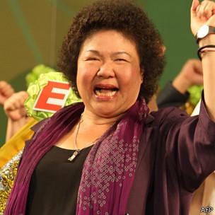 BBC:陈菊再访中国大陆 民进党正面肯定