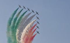 Frecce_01 (Byk01) Tags: italian nikon force air airshow tamron frecce tricolori d90 mb339 kecskemet 2013 70300vc