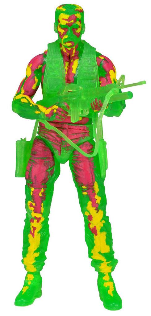 NECA 7吋終極戰士第11彈~ 熱感應塗裝達奇少校實在是酷斃啦!~