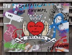 Brixton - You had me at whagwan... (id-iom) Tags: street uk england urban streetart london art love face wall graffiti cool stencil paint heart arts spray vandalism spraypaint brixton acrylicpaint idiom aerosolpaint jamaicanpatois