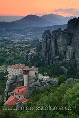 Entrada del blog: Diario de viaje Grecia 2013: Monasterios de Meteora en Kalambaka (segunda parte) (Iigo Escalante) Tags: trip travel viaje sunset summer sun holiday color sol nature water canon landscape atardecer photography photo agua holidays europa europe diary paisaje greece viajes grecia verano turismo vacaciones diario viajar guia vacationatardecergreciagreecegreekgriegapanoramapanoramic lonelyplanetnationalgeographicgetty