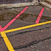 red and yellow lines