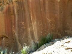 Largo Canyon 0045 (glyphwalker) Tags: newmexico navajo fourcorners rockart petroglyphs pictographs largocanyon