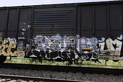 Koyn (Revise_D) Tags: railroad graffiti revise graff tagging freight revised trainart fr8 benching koyn fr8heaven fr8aholics revisedesigns revisedeigns revisedesign fr8bench