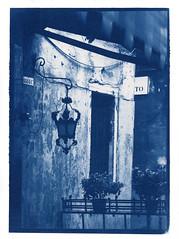 Lantern (2009) (Alexander Tkachev) Tags: 8x10 alternative cyanotype contactprint alternativephotography digitalnegative altprocess wetdarkroom pictorico alexandertkachev